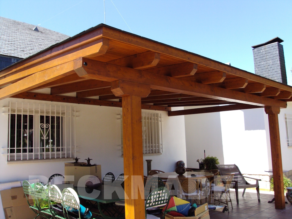 Porches de madera deckmader - Fotos de porches rusticos ...