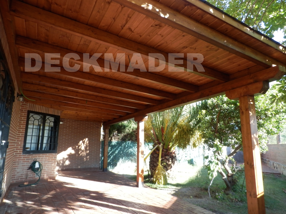 Porches de madera deckmader - Porches de madera en kit ...