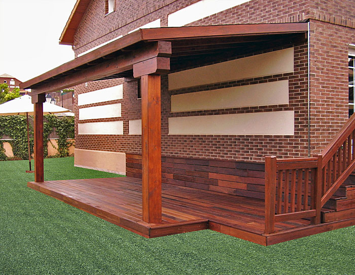 Porches de madera for Porches de madera