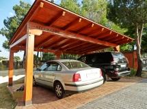 Garaje de madera en Boadilla del Monte