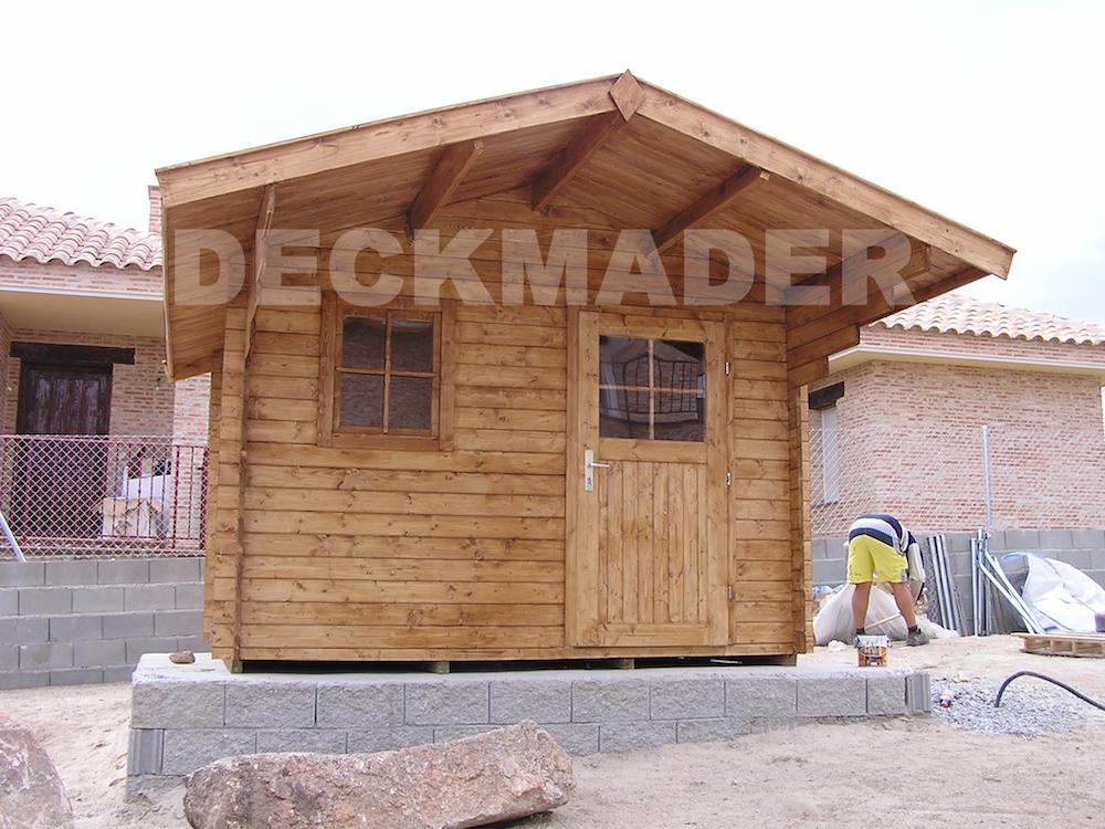 Construcci n de casetas de madera para exteriores madrid - Casetas de madera madrid ...