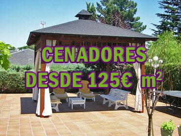 Cenadores desde 125€/m2