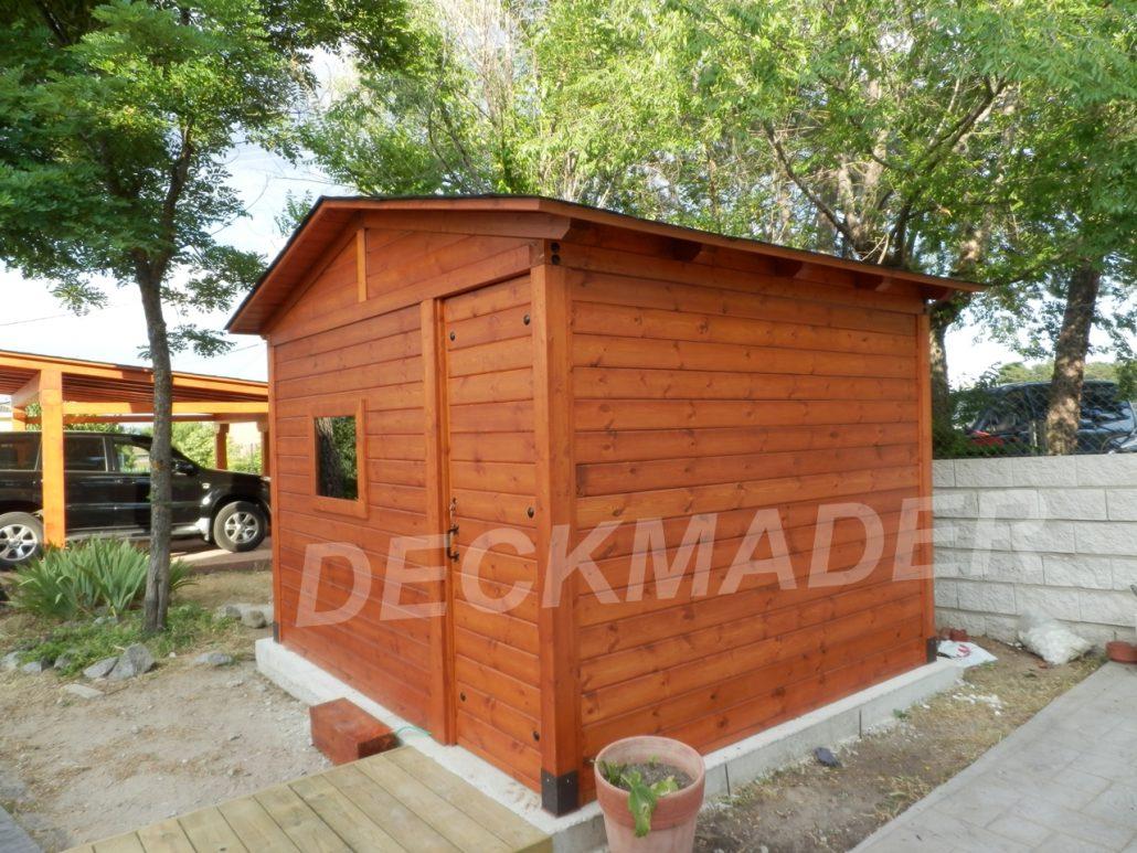 Estructuras de madera de calidad Deckmader