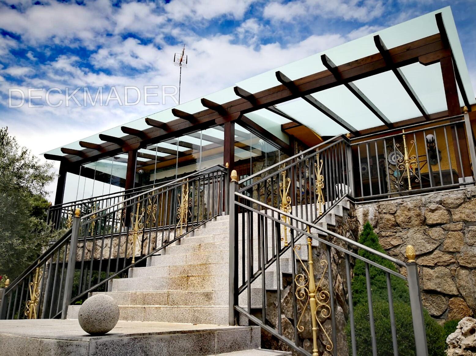 Estructuras de madera para tu porche